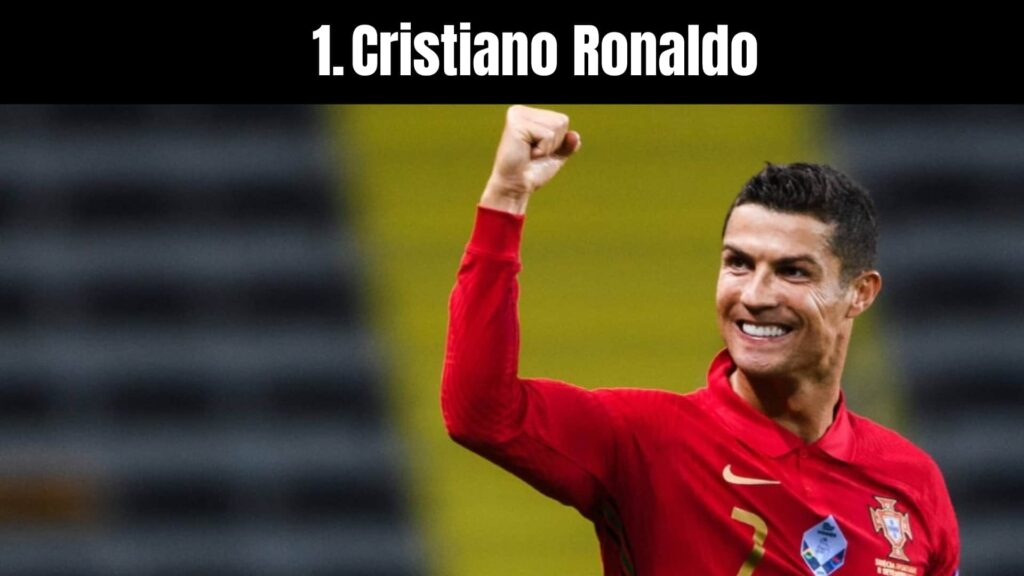 The 10 Richest Soccer Players in the World, Cristiano Ronaldo.
