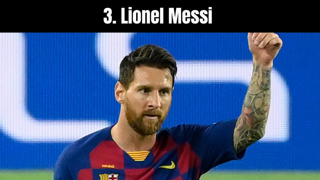 The 10 Richest Soccer Players in the World, Lionel Messi.