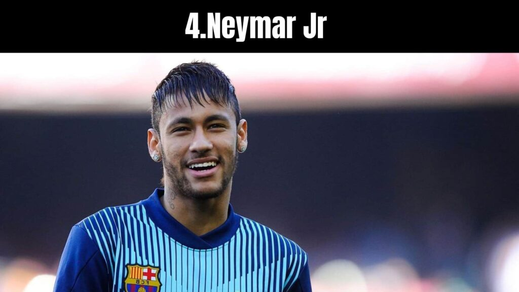 The 10 Richest Soccer Players in the World, Neymar Jr .