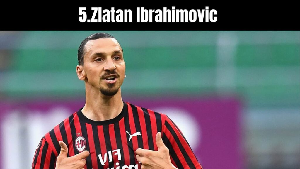 The 10 Richest Soccer Players in the World, Zlatan Ibrahimovic .
